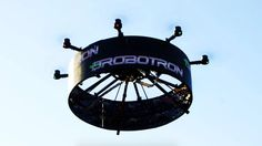 Bobby Watts has created the world's first digital LED 360-degree drone-billboard.