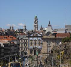 Estação de S. Bento, Igreja dos Congregados e Câmara do Porto