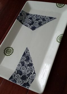 Japanese Tissue Paper applied on Clay