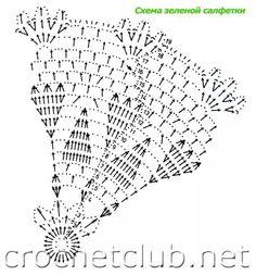 Napkin crochet pattern