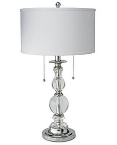 jcp | Royal Velvet® Optic Crystal Table Lamp