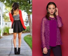 Look courtesy of Daniela Montano on Pinterest. Pattern is the Izabel Cardigan in Ritratto. http://on.fb.me/1s0fEpm