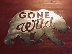 """Dimensions : Approx 8.75"""" tall by 15"""" wide 1/16th inch thick raw metal Custom Monograms Available"""