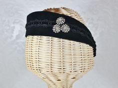 josephine headband in black