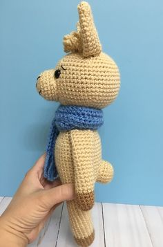 Amigurumi Llama - A Free Crochet Pattern - Grace and Yarn Crochet Amigurumi Free Patterns, Crochet Animal Patterns, Stuffed Animal Patterns, Crochet Animals, Crochet Toys, Free Crochet, Crochet Bunny, Thread Crochet, Amigurumi Doll