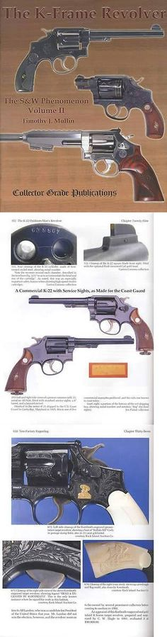 Books and Video 7304: Smith Wesson K-Frame Revolver 1896 Up Collector Reference 520Pg Specs, More -> BUY IT NOW ONLY: $80.95 on eBay!