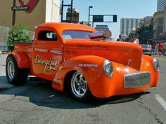 Blown Willys hot rod