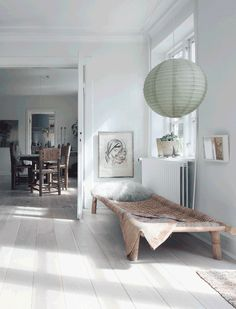 Neutral Rustic Danish House With Flea Market Finds - DigsDigs House Farm, Danish House, Turbulence Deco, Style Rustique, Living Spaces, Living Room, Interior Decorating, Interior Design, Small Apartments