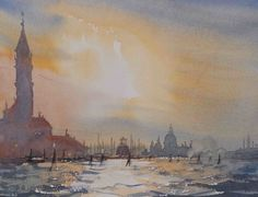 The Grand Canal, Venice. Watercolour by Robert McCulloch