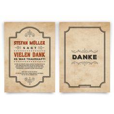 Danksagungskarten Vintage #danksagungskarte #danksagung #dankeskarte #danke  #vielendank #bedanken #geburtstag
