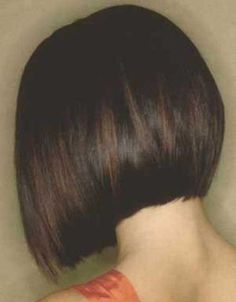 Back views of bob haircuts