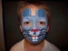 Mouse face paint