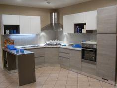 #Cucina modello #Wave di #effequattro su www.outletmobili-italia.it