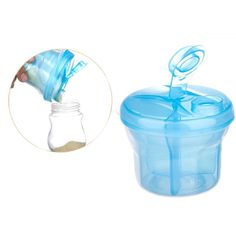 HOT Three-Layers Newborn Baby Plastic Milk Powder Container Milk Powder Box High Quality Baby Feeding Tools VCO02 P12 0.5