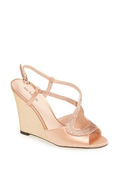 f01f9b116ab Free shipping and returns on Menbur  Tunder  Satin Wedge Sandal at Nordstrom .com