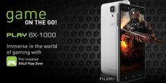 Xolo Play 6x-1000 – 5″ HD Hexa Core Android Kitkat Gaming Smartphone