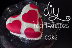 14 Days of Valentine (Day 4): Heart-Shaped Cake