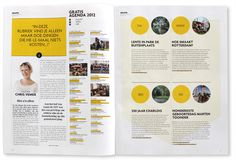 Rotterdampas Magazines by Studio Beige , via Behance