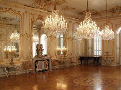 Hall of Mirrors, Festetics Castle, Hungary