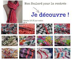 Tendance mode rentrée 2014 disponibles chez princesse foulard www.princesse foulard.com
