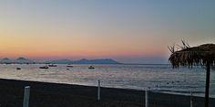 Tramonto rosso a San Giorgio di Gioiosa Marea, Sicily