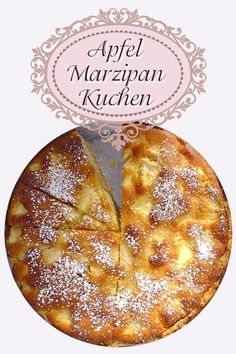 Apple marzipan cake or apple cake with marzipan - Although we have numerous fantastic apple pie recipes, this apple marzipan cake is one of the favor - Delicious Cake Recipes, Pie Recipes, Yummy Cakes, Apple Custard, Apple Pie, Cookies Roses, Apple Bundt Cake Recipes, Low Fat Cake, Marzipan Cake