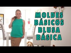 Omaira tv- MOLDE BÁSICO BLUSA BASICA basic mold basic blouse