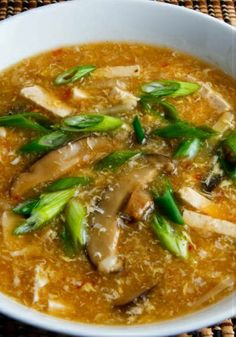 Authentic Chinese Recipe -- Hot & Sour Soup