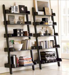 what to put on my ladder shelf