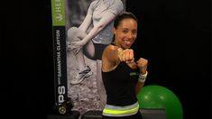 BOXING FIT WORKOUT Samantha Clayton's Body Blast | Herbalife Fit Tips