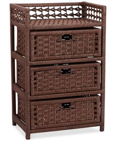 Easy organization, instant style —Household Essentials woven storage chest