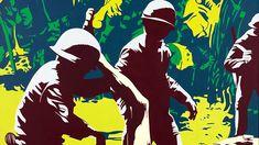 BBC - Pop ArtThe politics of Pop Art: A dissenting world view Jasper Johns, Roy Lichtenstein, Andy Warhol, Images Pop Art, Illustration Pop Art, Richard Hamilton, Neo Dada, Critique D'art, Pop Art Drawing