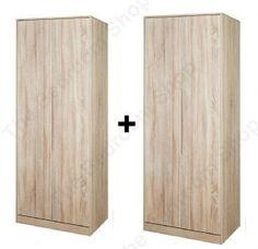 Monaco Tall 4 Door Wardrobe