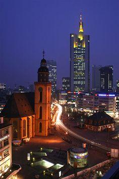 Hauptwache Frankfurt, Germany