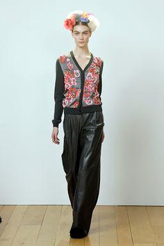 The Style Examiner: Eudon Choi Womenswear Autumn/Winter 2013