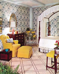 Home Decorating Sewing Projects Info: 8195953016 Bedroom Vintage, Vintage Home Decor, 1950s Bedroom, 1960s Decor, 1960s House, Retro Bedrooms, Mid Century Bedroom, Interior Design Programs, Vintage Interiors