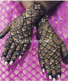 Wedding Henna Designs, Full Mehndi Designs, Mehandhi Designs, Latest Bridal Mehndi Designs, Henna Art Designs, Mehndi Designs For Beginners, Mehndi Designs For Girls, Mehndi Design Photos, Beautiful Henna Designs