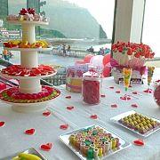 Buffet Chuches - Candy Bar - Boda Zarauz - Guipuzcoa 2 Ideas Originales, Buffet, Buffets, Catering Display, Lunch Buffet
