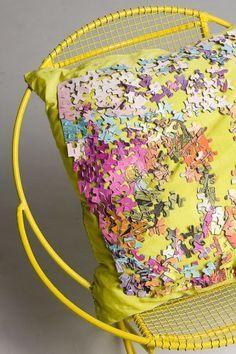 Puzzle pillow