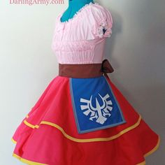 Skyward Sword Zelda Legend of Zelda Hyrule Cosplay Lolita Skirt Accessory | Darling Army