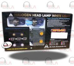Sourcing-LA: H-4 ULTRA WHITE BS-430 / H4-P43T HALOGEN HEAD LAMP...
