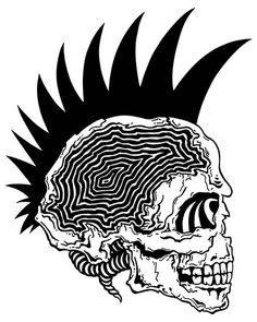 Ouroboros - 'Caveira punk' (by lucasbonfante).