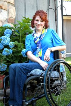 Wheelchair Photography Pose 2 Photo Credit: Danielle Ault