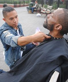 Why this stylist spent a year giving haircuts to the NYC homeless