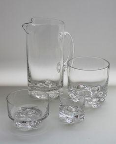 GaissaTapio Wirkkala, Iittala 1973- Clear Glass, Glass Art, Glass Ceramic, Retro Design, Glass Design, Finland, Dinnerware, Minnen, Mid Century