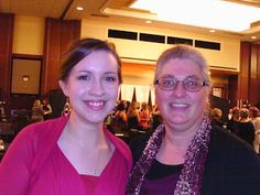 Seekerville's Roving Reporters Bring Home the Scoop from ACFW 2015 with guests Natalie Monk and Courtney Ballinger. Photo of Natalie and Pam Hillman.
