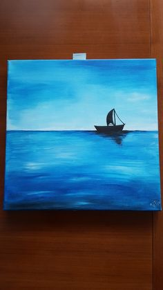 see boat blue