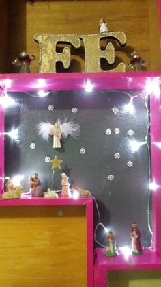 Gavetas na parede De♡coração de Natal 2015  Estilo shabby chic com reaproveitamento de materiais by Sandra Dias.Interires