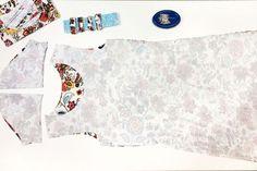 Jednoduchý střih na dámské šaty + návod jak ušít šaty krok za krokem (návod vhodný i pro začátečníky) Diy And Crafts, Tapestry, Sewing, Dressmaking, Boss, Unitards, Hanging Tapestry, Tapestries, Couture