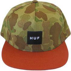 HUF Japanese Duck Camo/Orange Snapback